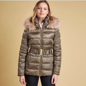 NWT Barbour Sundrum Quilted Jacket